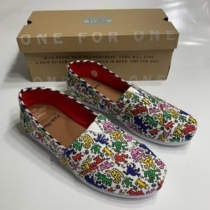 TOMS Keith Haring Pop shoes